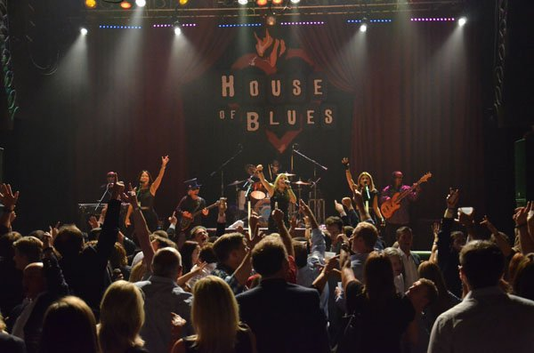Liquid Blue Band at House of Blues 600