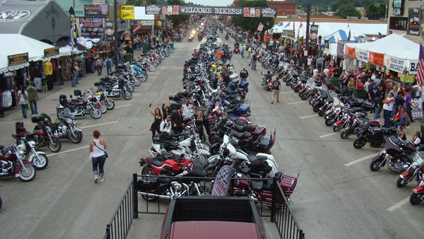 Liquid Blue Band in Sturgis SD 2013 600