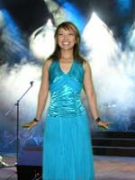 Long Aqua Dress Gina