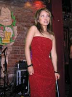Long Red Dress Gina