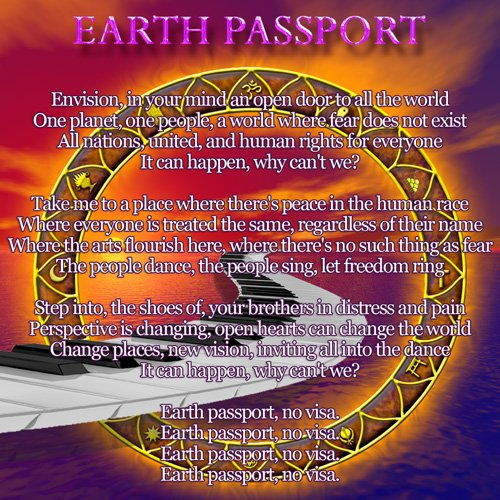Lyric Art 17 Earth Passport