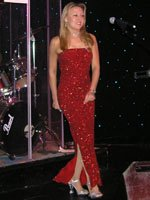 Red Long Dress Nikki