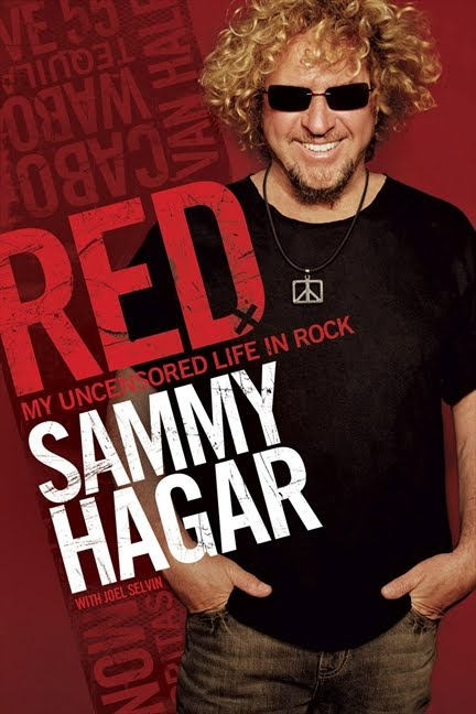 Sammy Hagar Red Book Cover