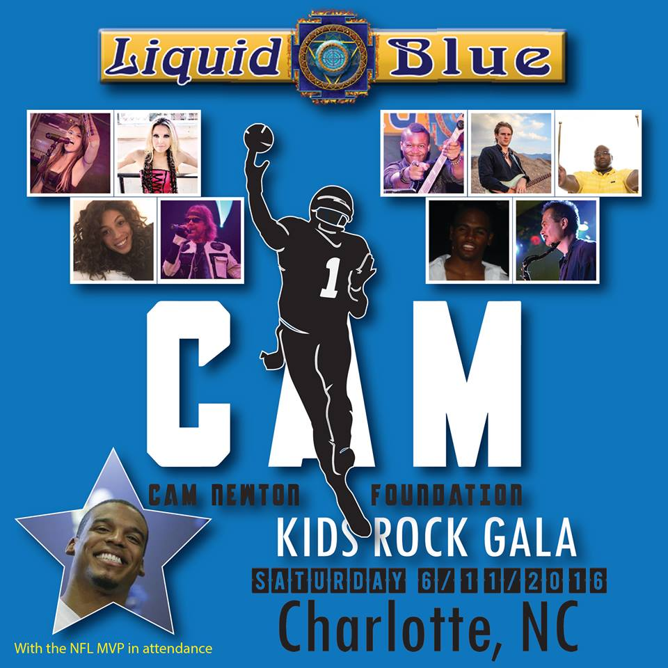 2016-06-11 Liquid Blue Band Performing at North Carolina (1)