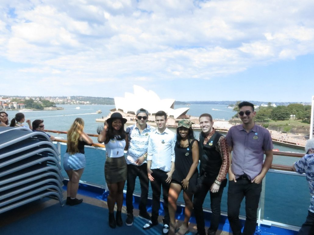 2017-01-08 Aqua Blue Band in Sydney Australia (5)