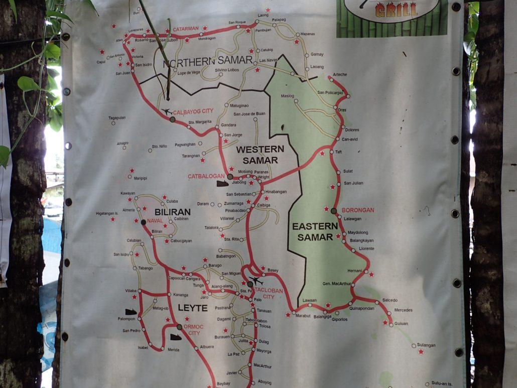 2017-01-14 Eastern Samar Philippines Map (1)