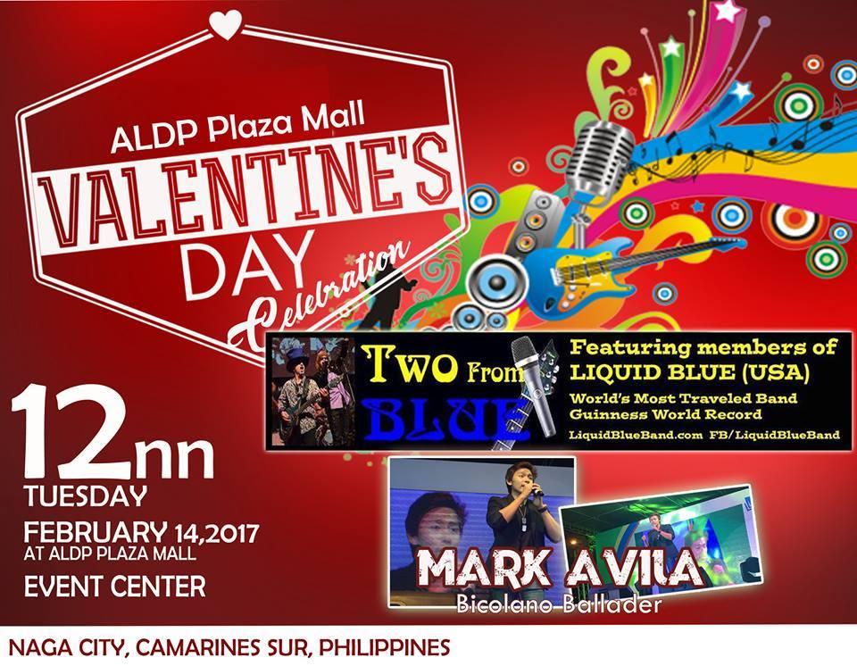 2017-02-14 Show Poster ALDP Plaza Mall Naga City Philippines