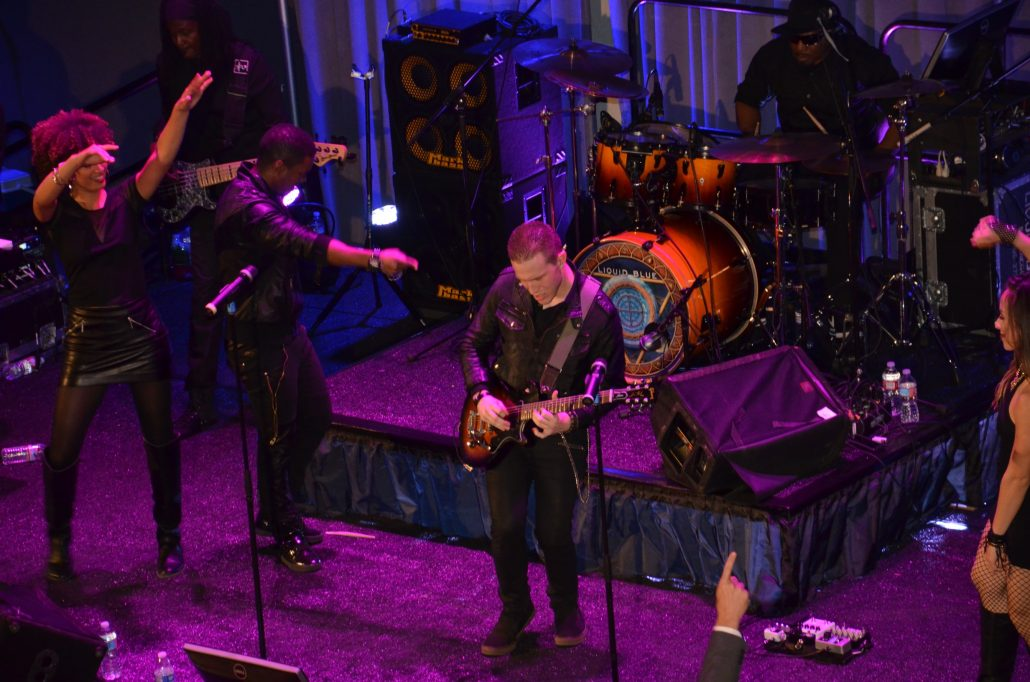 2017-02-22 Liquid Blue Band in Los Angeles CA at Shrine Auditorium Expo Hall (55)