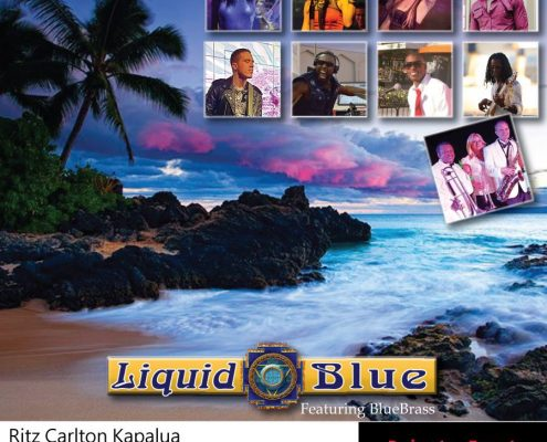 2017-05-26 Liquid Blue Band Performed at Maui Hawaii