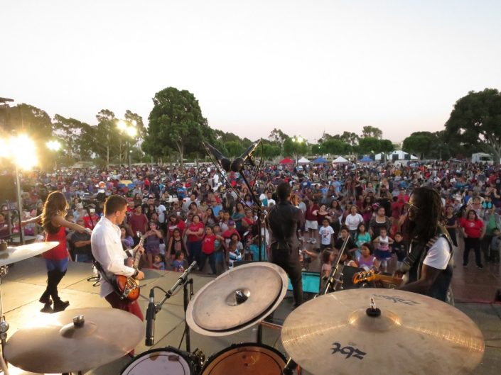 2017-07-03 Liquid Blue Band in Norwalk CA at City Hall Lawn (38)