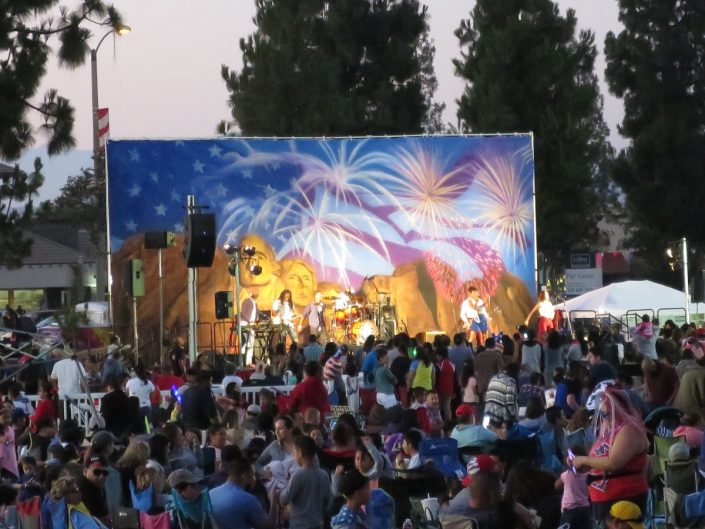 2017-07-03 Liquid Blue Band in Norwalk CA at City Hall Lawn (53)
