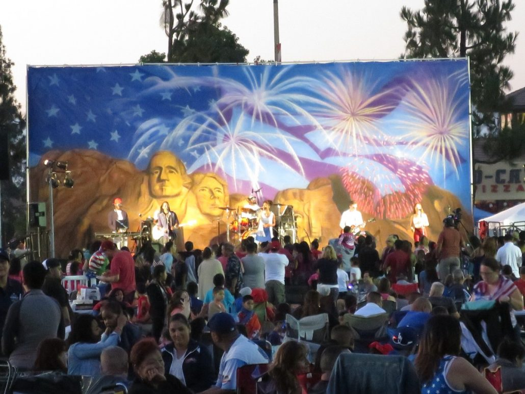 2017-07-03 Liquid Blue Band in Norwalk CA at City Hall Lawn (54)