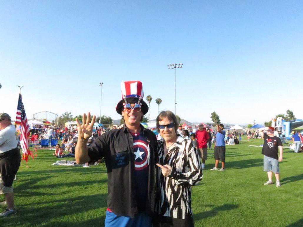 2017-07-04 Liquid Blue Band in San Marcos CA at Bradley Park (11)