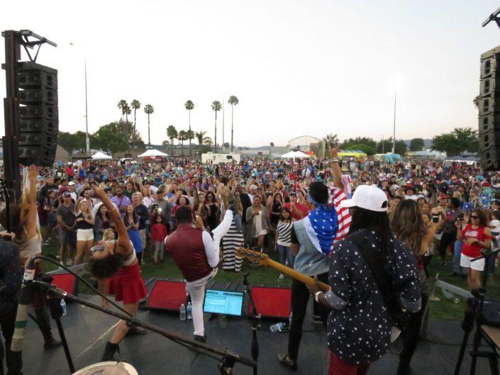 2017-07-04 Liquid Blue Band in San Marcos CA at Bradley Park (126)