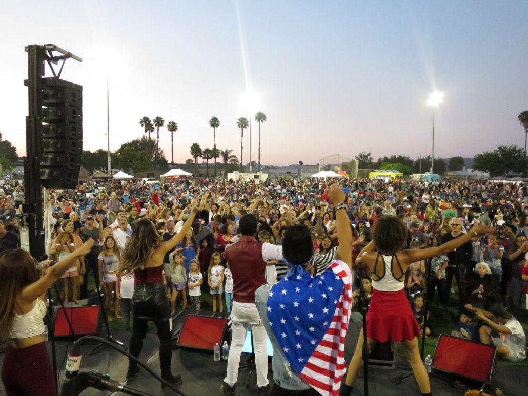 2017-07-04 Liquid Blue Band in San Marcos CA at Bradley Park (148)