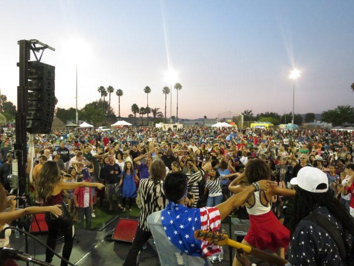 2017-07-04 Liquid Blue Band in San Marcos CA at Bradley Park (153)