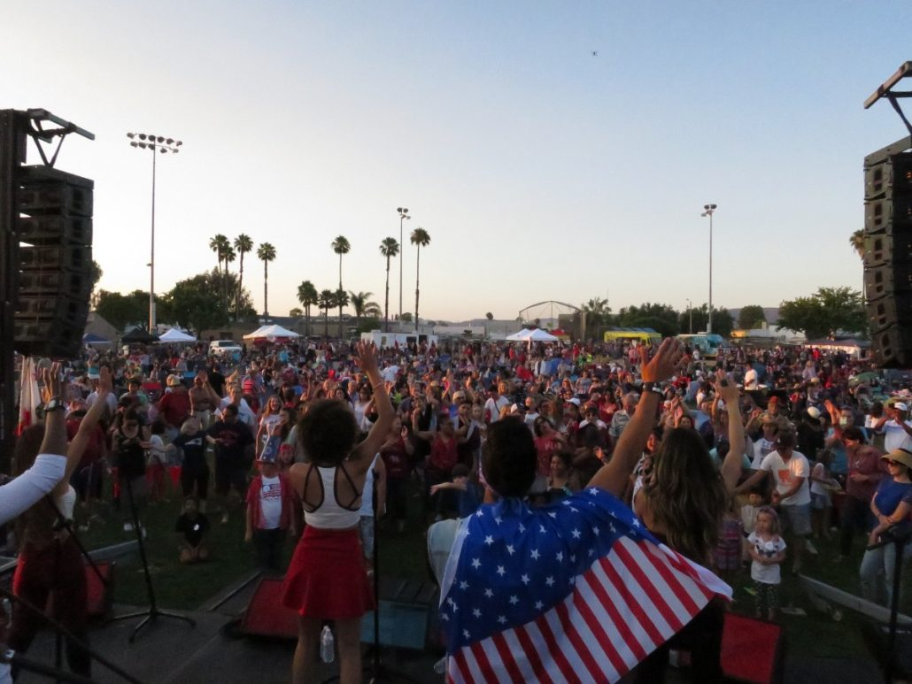 2017-07-04 Liquid Blue Band in San Marcos CA at Bradley Park (93)