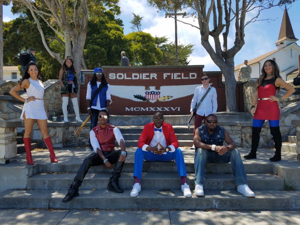 2017-07-21 Liquid Blue Band in Monterey CA at The Presidio (13)