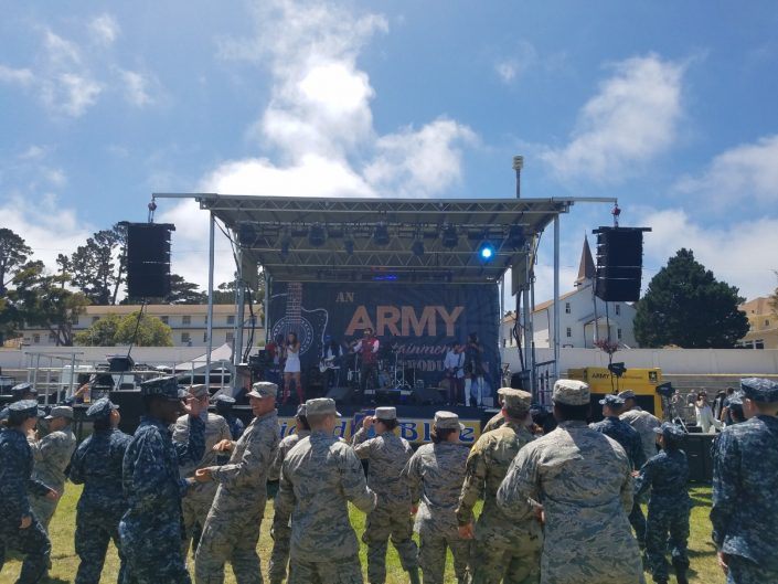2017-07-21 Liquid Blue Band in Monterey CA at The Presidio (16)