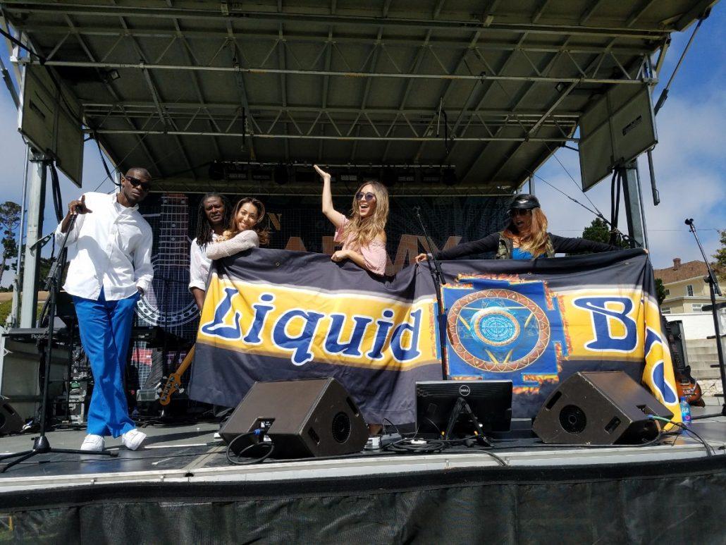 2017-07-21 Liquid Blue Band in Monterey CA at The Presidio (3)