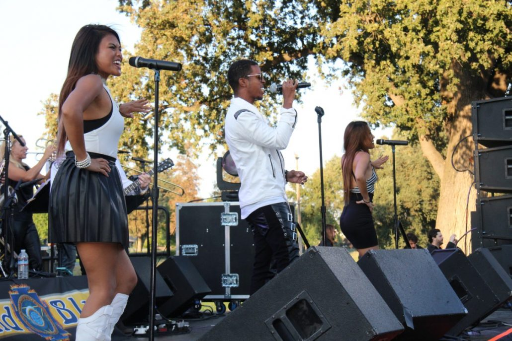 2017-08-12 Liquid Blue Band in Ripon CA at Spring Creek Golf and Country Club 2 (10)