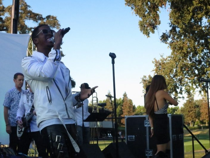 2017-08-12 Liquid Blue Band in Ripon CA at Spring Creek Golf and Country Club (2)
