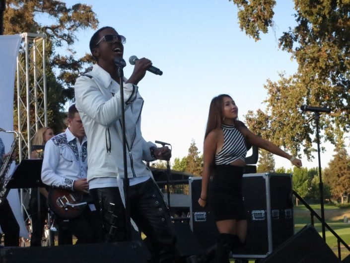 2017-08-12 Liquid Blue Band in Ripon CA at Spring Creek Golf and Country Club (7)