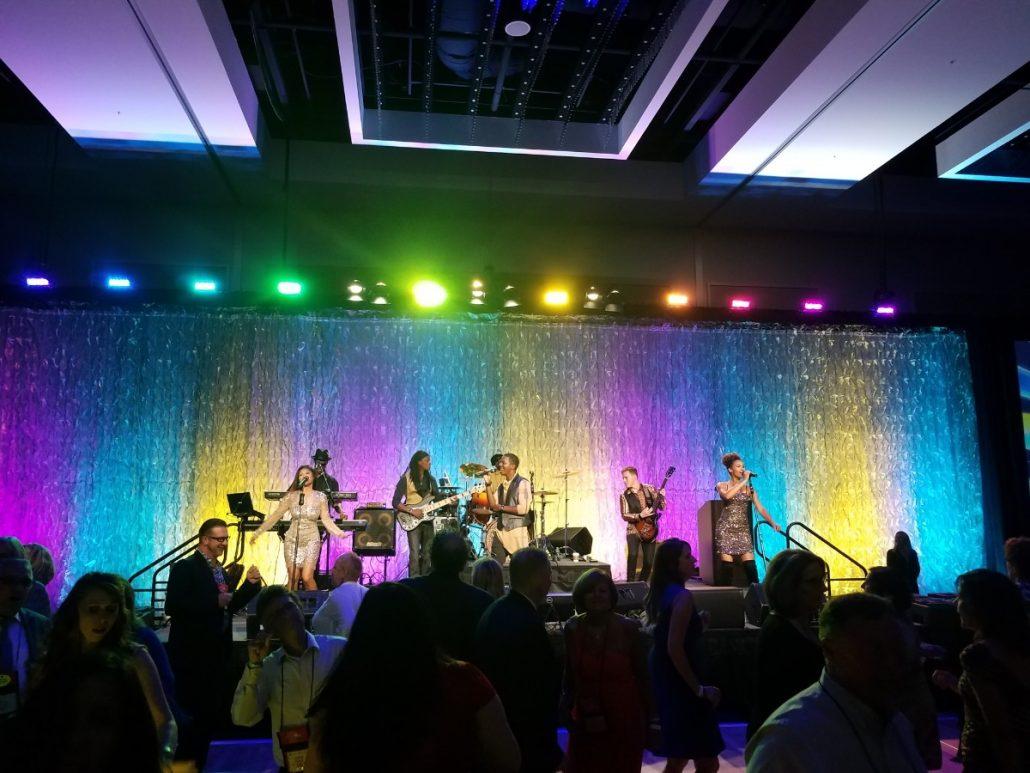 2017-08-28 Liquid Blue Band in San Diego CA at Marriott Marquis (30)