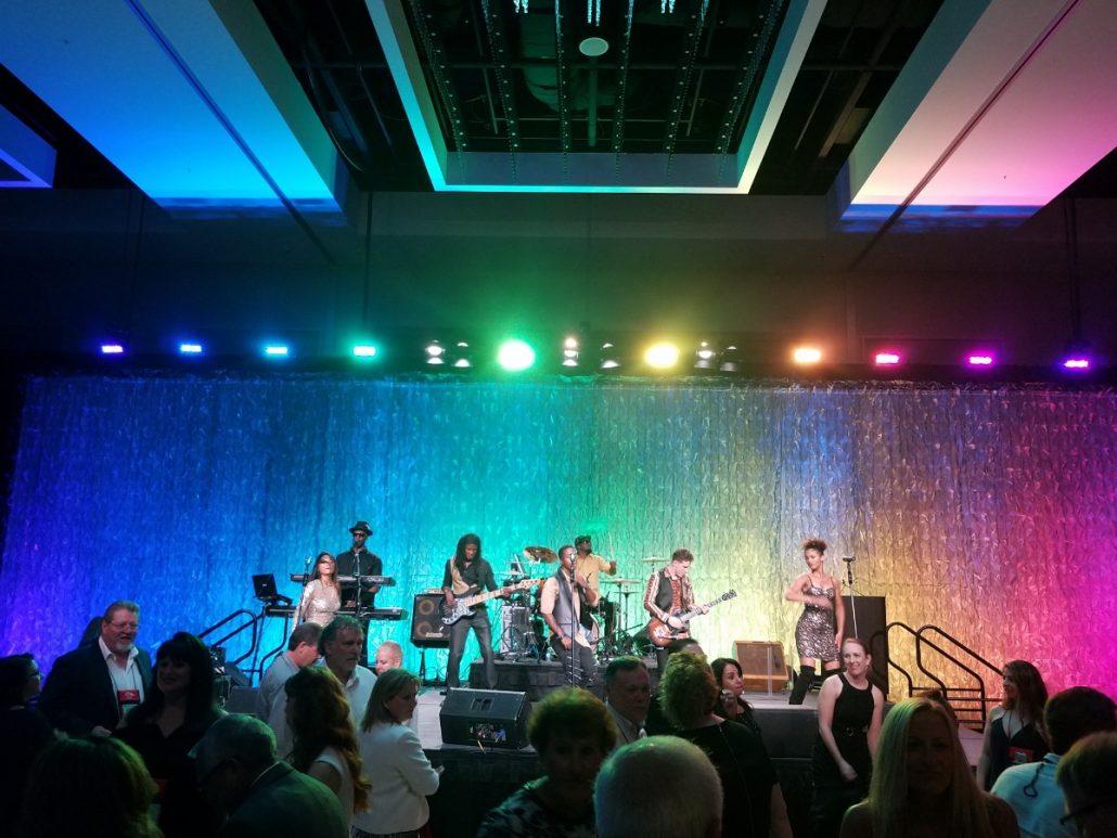 2017-08-28 Liquid Blue Band in San Diego CA at Marriott Marquis (40)