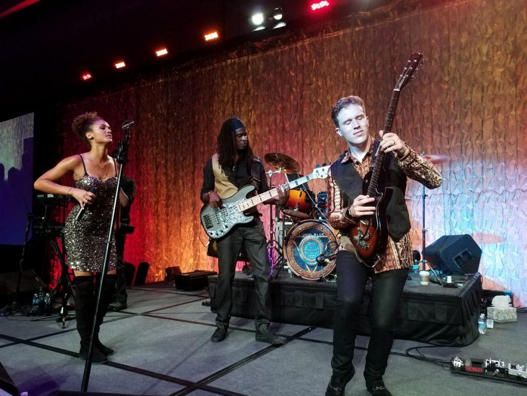 2017-08-28 Liquid Blue Band in San Diego CA at Marriott Marquis (58)