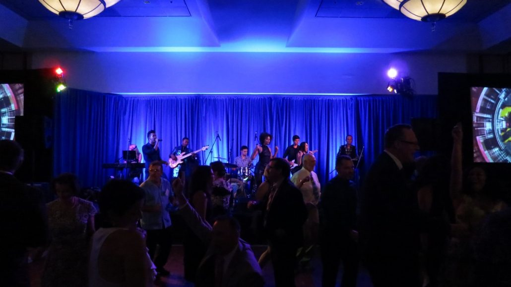 2017-09-30 Liquid Blue Band in San Diego CA at Marriott Marquis (5)