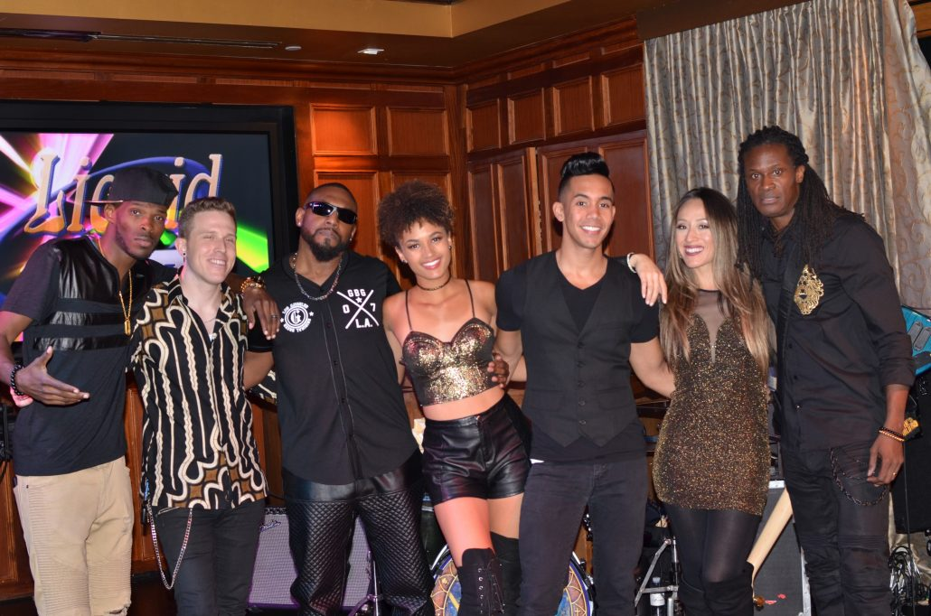 2017-10-13 Liquid Blue Band in San Diego CA at Club M (4)