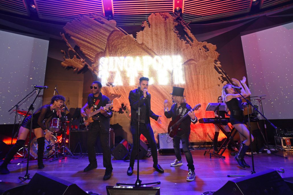 2017-11-11 Liquid Blue Band in Singapore at The Knolls Capella (6)