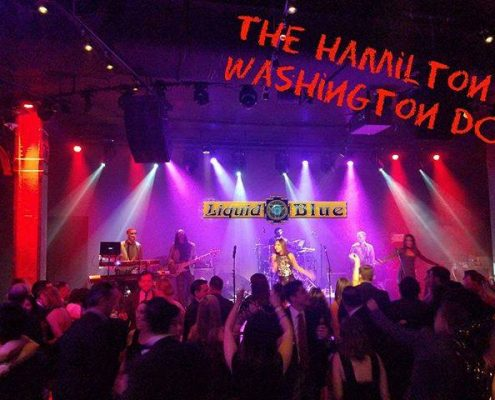 2017-12-11 Liquid Blue Band Performed at the Hamilton Washington DC