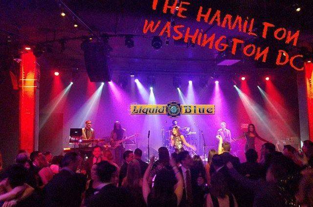 2017-12-11 Liquid Blue Band Performed at the Hamilton Washington DC