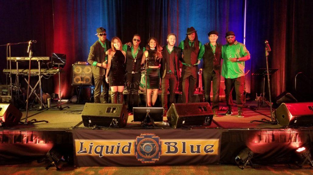 2017-12-16 Liquid Blue Band in San Diego CA at Marriott Marquis Hotel JGS8 (1)