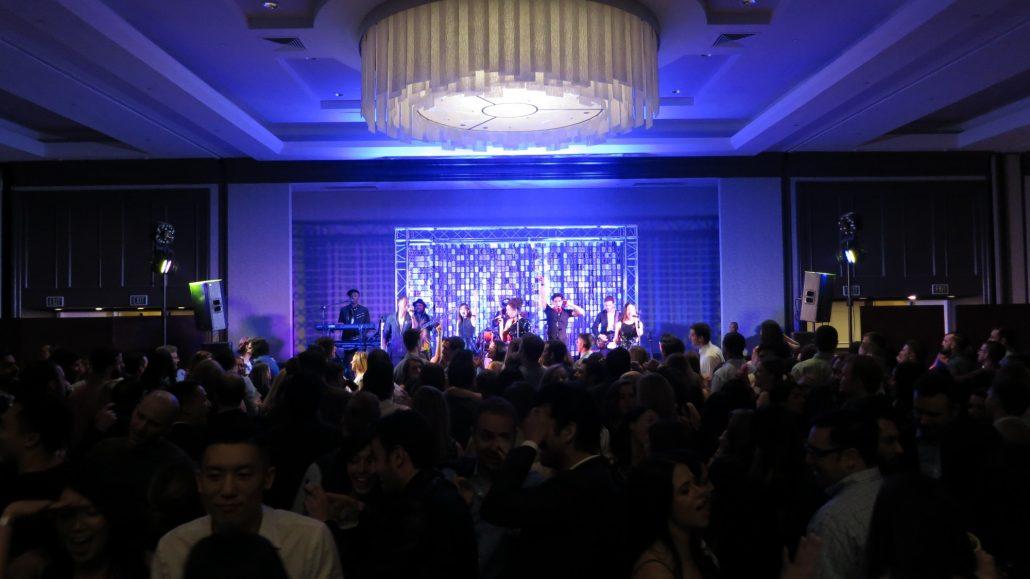 2018-02-16 Liquid Blue Band in San Diego CA at Manchester Grand Hyatt (110)