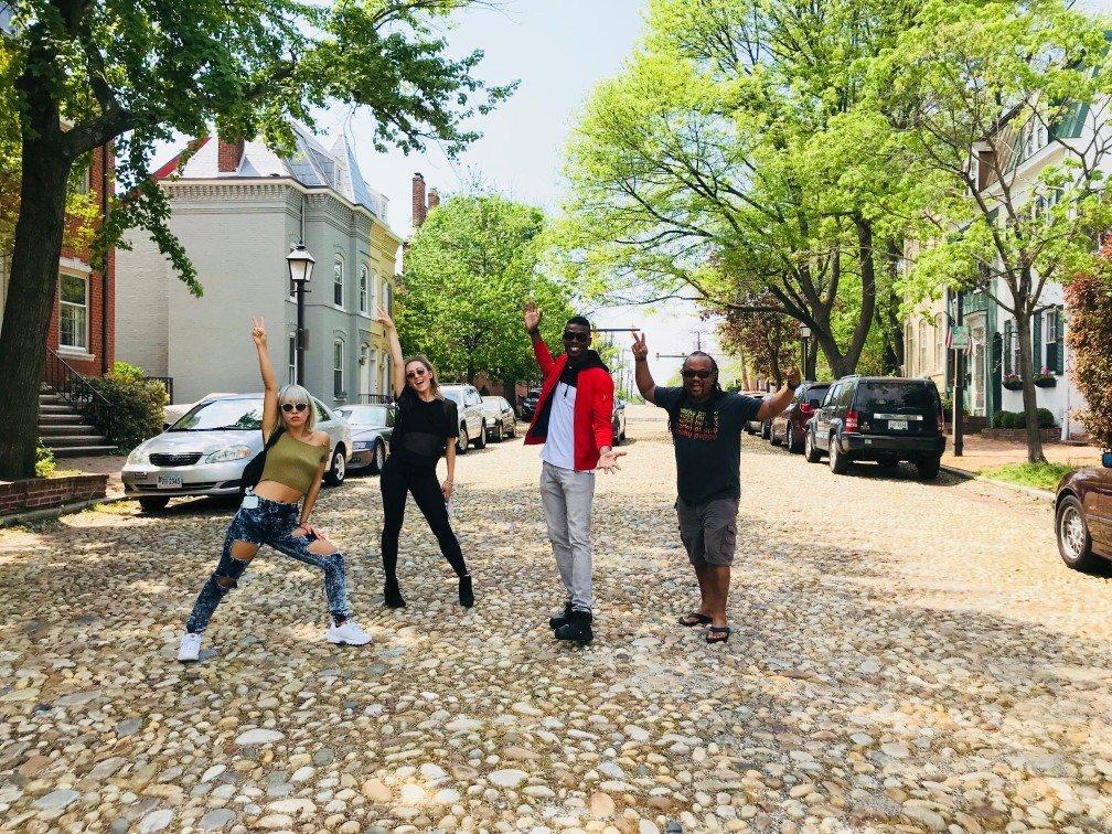 2018-05-04 Liquid Blue Band in Washington DC at Newseum (6)