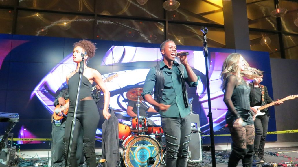 2018-05-11 Liquid Blue Band in Jamul CA at Hollywood Casino (6)