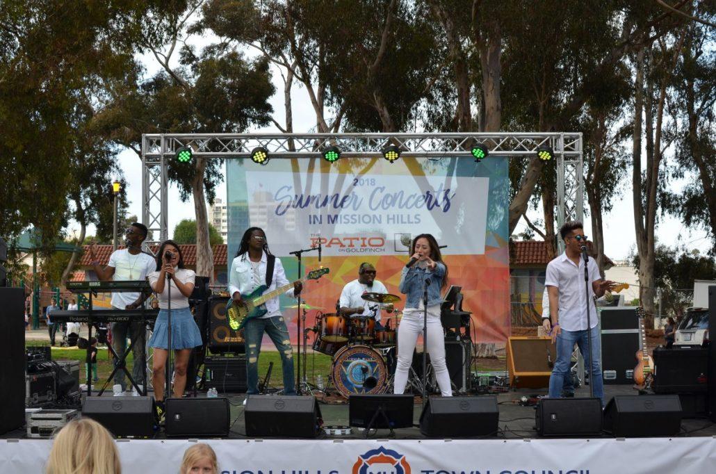 2018-06-22 Liquid Blue Band in San Diego CA at Pioneer Park (18)