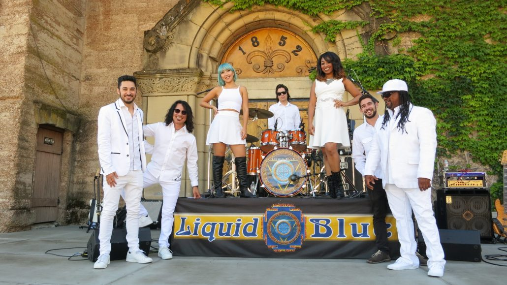 2018-06-26 Liquid Blue Band in Saratoga CA at Mountain Winery (5)