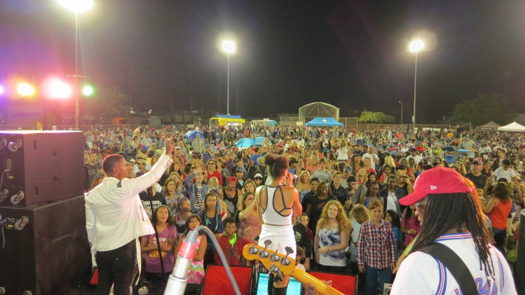 2018-07-04 Liquid Blue Band in San Marcos CA at Bradley Park (24)