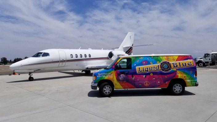 2018-07-21 LB Van and Private Jet Carlsbad CA