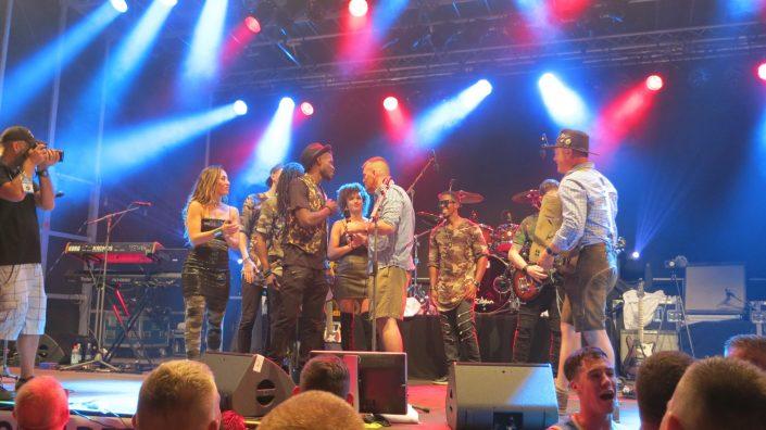 2018-08-04 Liquid Blue Band in Grafenwohr Germany at USAG Bravaria (1)