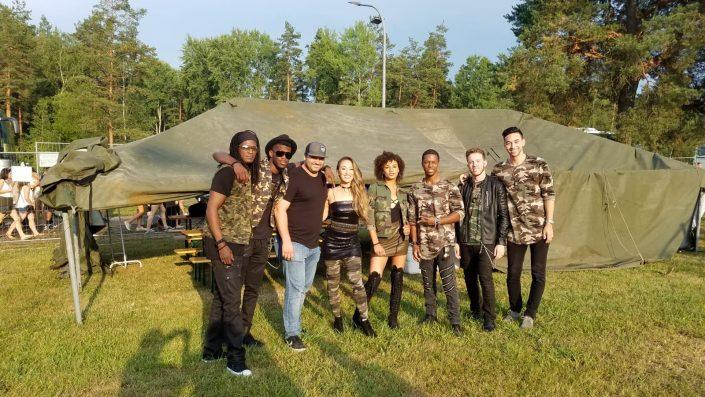 2018-08-04 Liquid Blue Band in Grafenwohr Germany at USAG Bravaria (22)