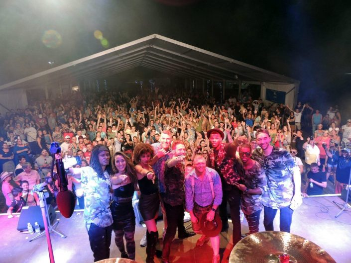 2018-08-04 Liquid Blue Band in Grafenwohr Germany at USAG Bravaria (29)