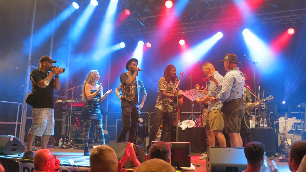 2018-08-04 Liquid Blue Band in Grafenwohr Germany at USAG Bravaria (32)