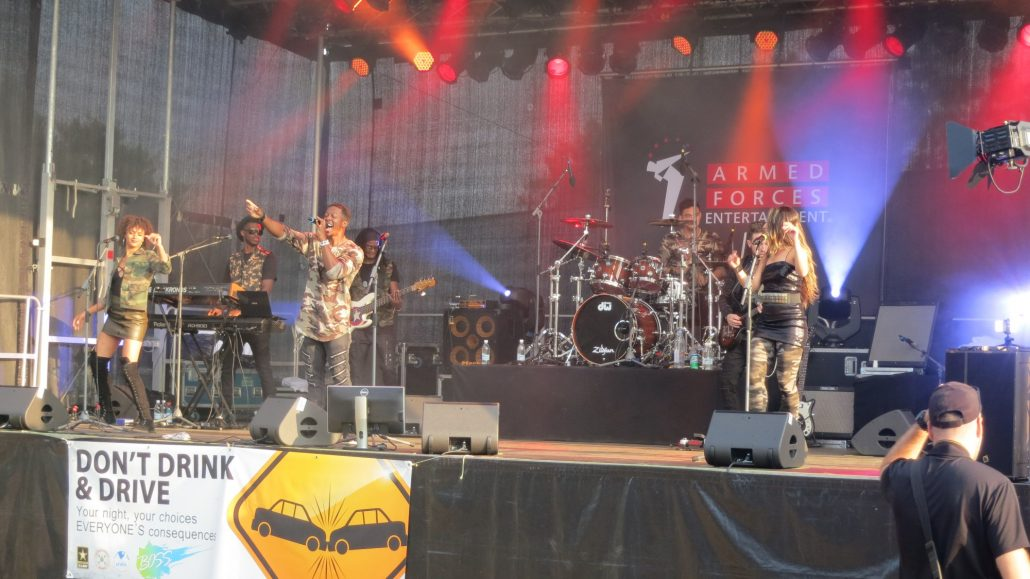 2018-08-04 Liquid Blue Band in Grafenwohr Germany at USAG Bravaria (4)