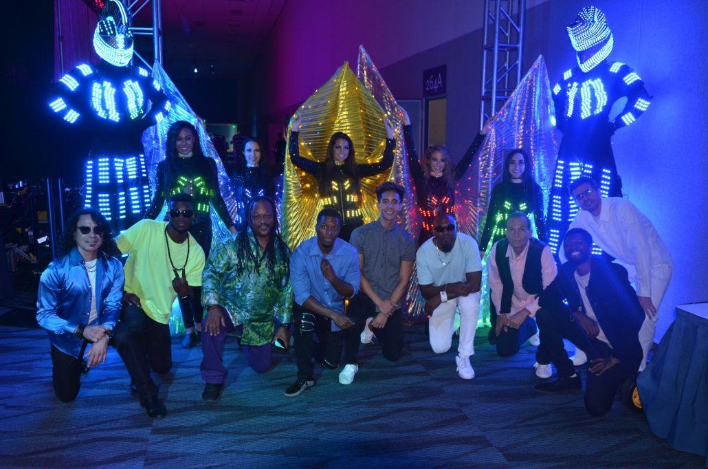 2018-10-01 Liquid Blue Band in Anaheim CA at Convention Center (165)