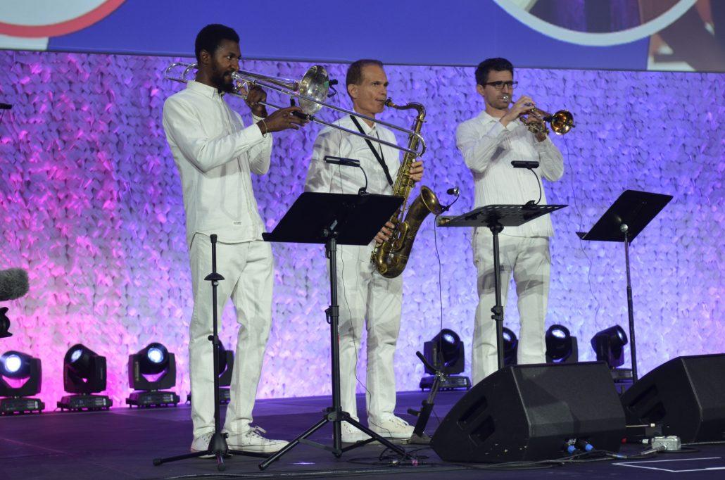 2018-10-01 Liquid Blue Band in Anaheim CA at Convention Center (21)